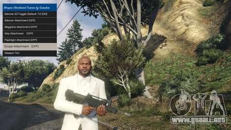 GTA 5 Tuning accesorios para armas 1.1