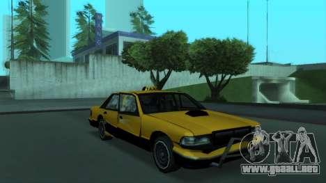 New Taxi para GTA San Andreas