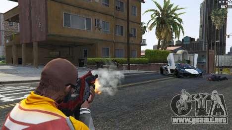 GTA 5 M-76 Revenant из de Mass Effect 2 octavo captura de pantalla