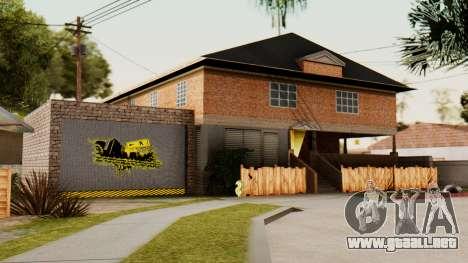 La casa de CJ para GTA San Andreas