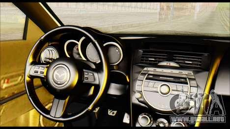 Mazdaspeed 3 Daglow v2 para la visión correcta GTA San Andreas