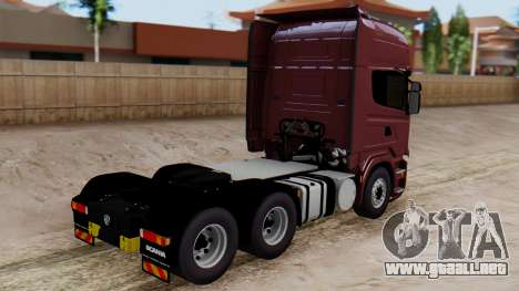 Scania R para GTA San Andreas left