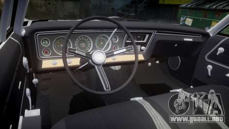 Chevrolet Impala 1967 Custom livery 3 para GTA 4 vista lateral