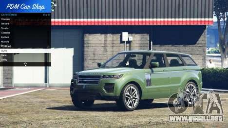 GTA 5 Premium Deluxe Motorsports Car Shop v2.3A.1 cuarto captura de pantalla