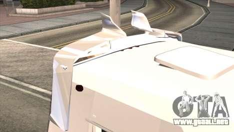 Ford Prisma IV Microbus para visión interna GTA San Andreas