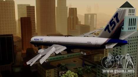 Boeing 757-200 (N757A) para GTA San Andreas left