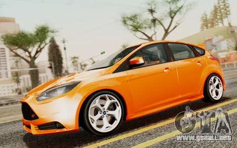 Ford Focus ST 2012 para GTA San Andreas