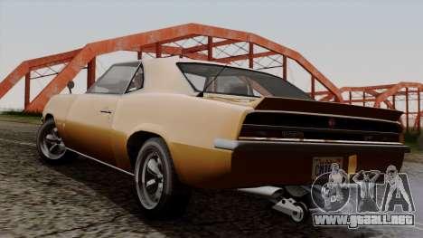 GTA 5 Declasse Vigero para GTA San Andreas left