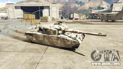 Miniatura tanque Rhino para GTA 5