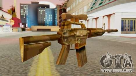 CAR-15 SA Style para GTA San Andreas segunda pantalla