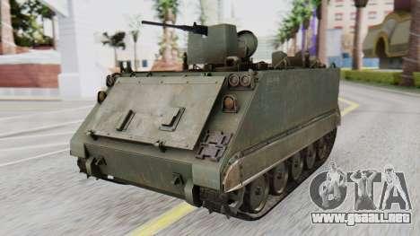 M113 from CoD BO2 para GTA San Andreas