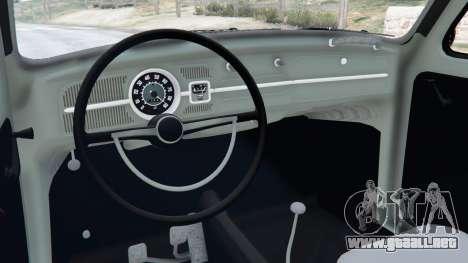 GTA 5 Volkswagen Beetle vista lateral derecha