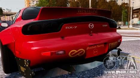 Mazda RX-7 RocketBunny EPM para GTA 4 visión correcta
