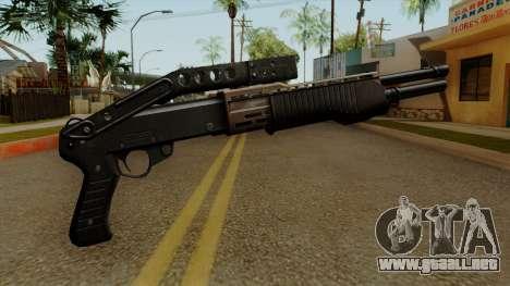Original HD Combat Shotgun para GTA San Andreas segunda pantalla