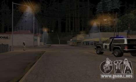 Lamppost Lights v3.0 para GTA San Andreas segunda pantalla