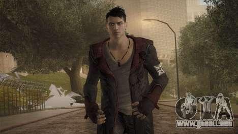 Dante from DMC para GTA San Andreas tercera pantalla