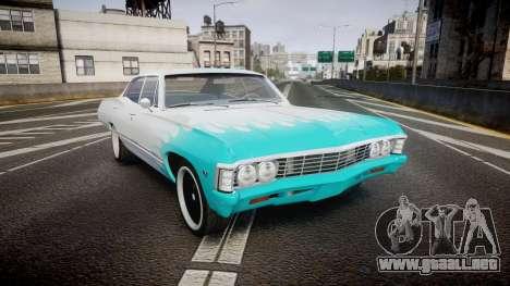 Chevrolet Impala 1967 Custom livery 1 para GTA 4