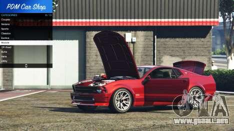 GTA 5 Premium Deluxe Motorsports Car Shop v2.3A.1 tercera captura de pantalla