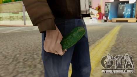 Pepino para GTA San Andreas segunda pantalla