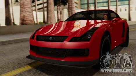 GTA 5 Annis Elegy RH8 IVF para GTA San Andreas