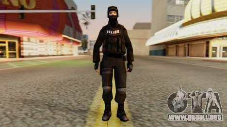 Modificado SWAT para GTA San Andreas segunda pantalla