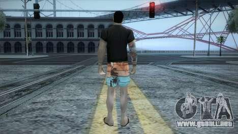 Beach Bum Vmaff1 para GTA San Andreas tercera pantalla
