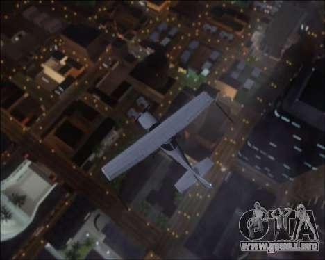 Project Vision ENB 1.1 para GTA San Andreas segunda pantalla
