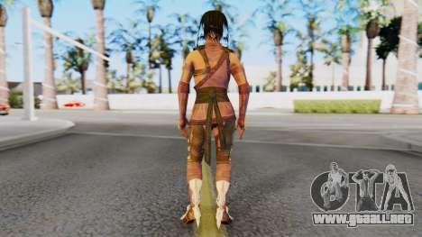 [MKX] Mileena para GTA San Andreas tercera pantalla