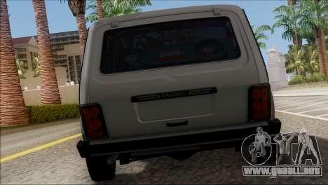 VAZ 2121 Niva BUFG Edición para la visión correcta GTA San Andreas