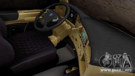 Scania R para la visión correcta GTA San Andreas
