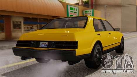 GTA 5 Albany Esperanto IVF para GTA San Andreas left