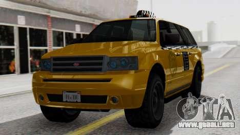 Vapid Landstalker Taxi SR 4 Style para GTA San Andreas