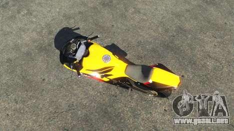 Pegassi Bati 801RR Repsol para GTA 5