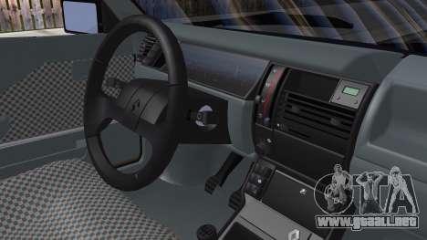 Renault 11 Tuning para GTA San Andreas vista posterior izquierda