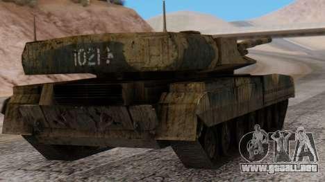 T-95 from Arctic Combat para GTA San Andreas left