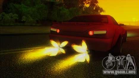 Elegy Rocket Bunny Edition para la vista superior GTA San Andreas