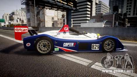 Radical SR8 RX 2011 [829] para GTA 4 left