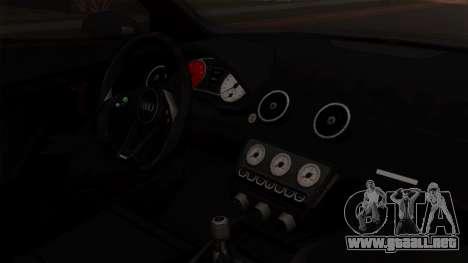 Audi A1 Quattro Clubsport para la visión correcta GTA San Andreas