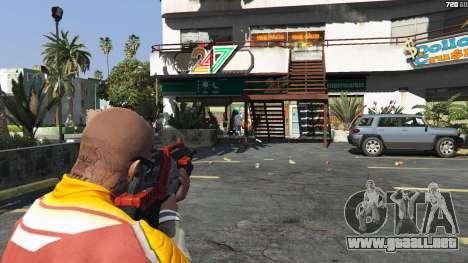 GTA 5 M-76 Revenant из de Mass Effect 2 quinta captura de pantalla