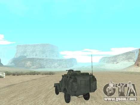 El APC 40 para GTA San Andreas left