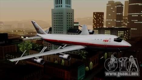 Boeing 747 TWA para GTA San Andreas