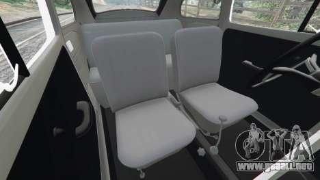 GTA 5 Volkswagen Beetle delantero derecho vista lateral