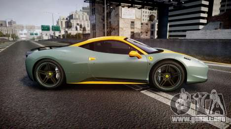 Ferrari 458 Italia Novitec Rosso 2012 para GTA 4 left