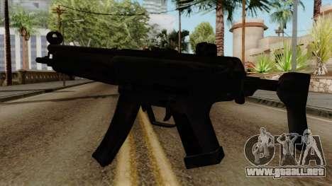 Original HD MP5 para GTA San Andreas segunda pantalla