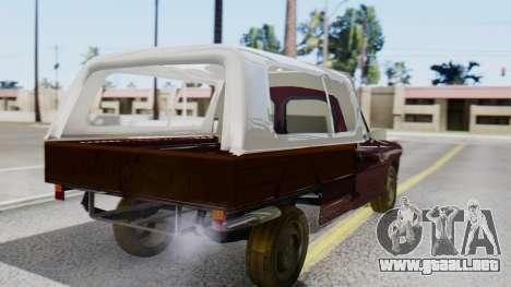 Peugeot 404 Camioneta para GTA San Andreas left