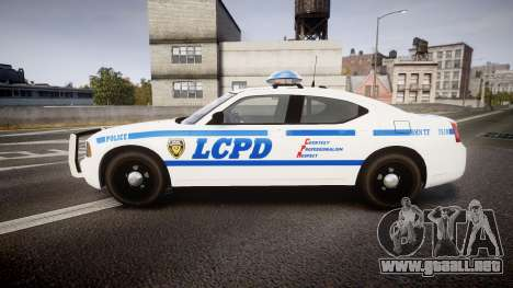 Dodge Charger LCPD para GTA 4 left