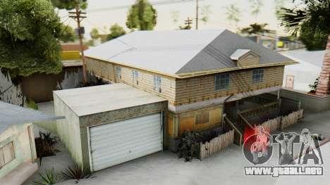 New CJs House para GTA San Andreas segunda pantalla