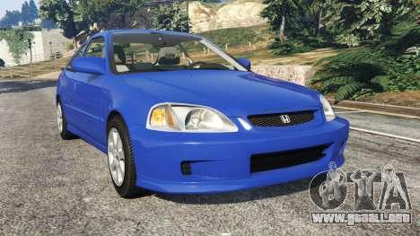Honda Civic Si 1999 para GTA 5