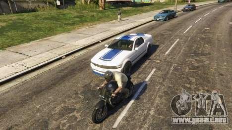 Modelos adicionales de personas y vehículos 0,8  para GTA 5