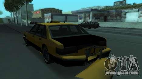 New Taxi para las ruedas de GTA San Andreas